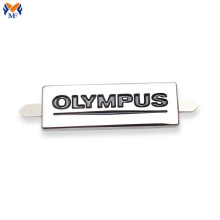 Customized metal gift tag for clothing