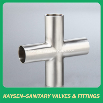 AS1528 Sanitary long welded cross