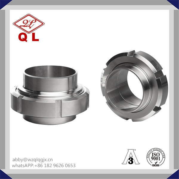 Sanitary Stainless Steel Fitting Union DIN 11851