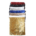 New Design PE Sequin Drawstring Gym Shoe Backpack Bag