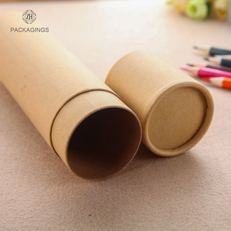Cutom 4 color printing 8mm paper tubes