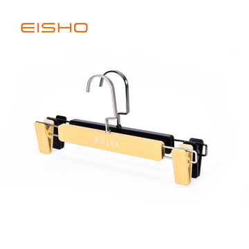 EISHO Wood Imitation Plastic Pants Hanger