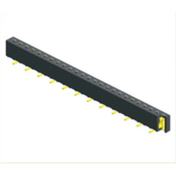 1.00mm Female Header Single Row SMT Type