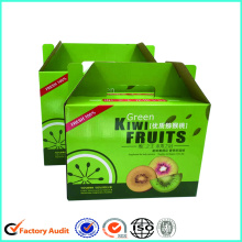 Corrugated Paper Kiwi Fruit Packaging Box