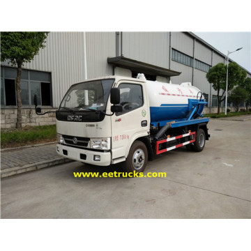 700 Gallon 130HP Vacuum Sewage Suction Trucks