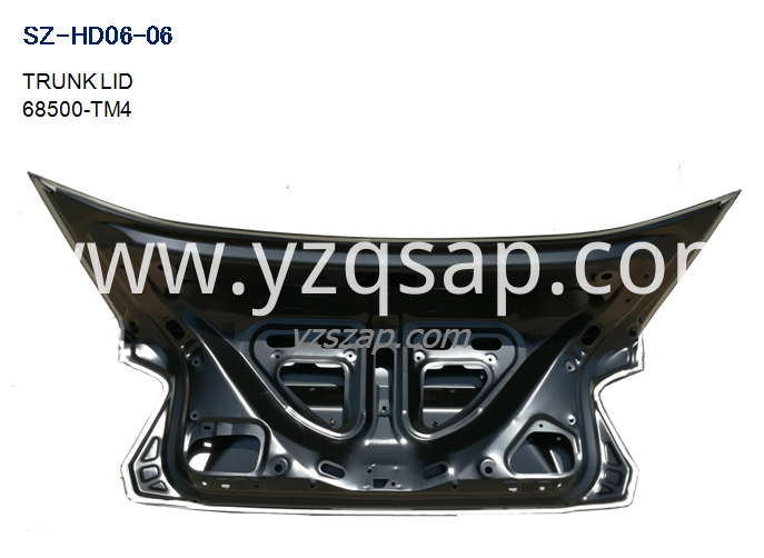 GM2 TRUNK LID INSIDE