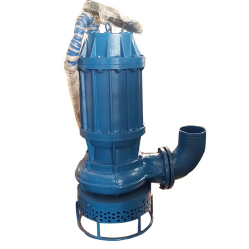 Submersible gravel pump for dredging