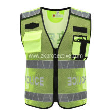 Polyester Warning safety jacket
