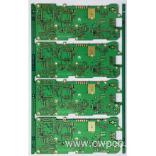 Pin pads and SMT pads PCB