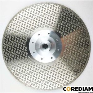 230mm Electroplate blade for Granite&Marble