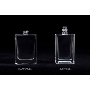 Rectangle Glass Spray 100ml Clear Glass Perfume Bottle