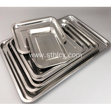 304 Food Grade Quality Stainless Steel Baking Tray