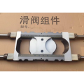 Concrete pump wear parts sliding valve