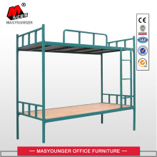 Factory best selling for Bunk Bed Green Blue Plate Top Metal Bunk Bed export to Brunei Darussalam Wholesale