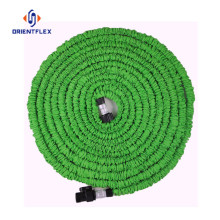 Collapsible garden stretch water hose