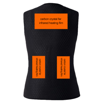 Hátækni Far Infrared Thermal Vest Veski