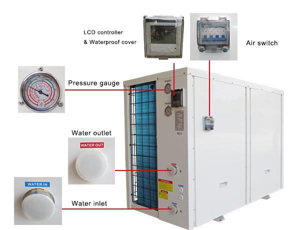 High Cop Air Source Heat Pump