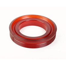 Custom Red Urethane Casting Piston Polyurethane Elastomer