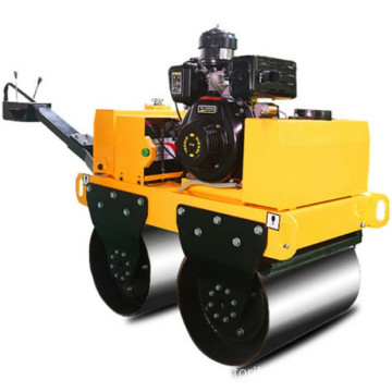 small walk behind road roller distributor