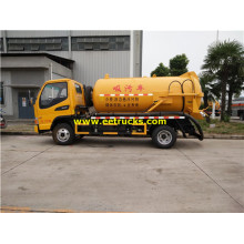 6000L 150HP Waste Tanker Trucks