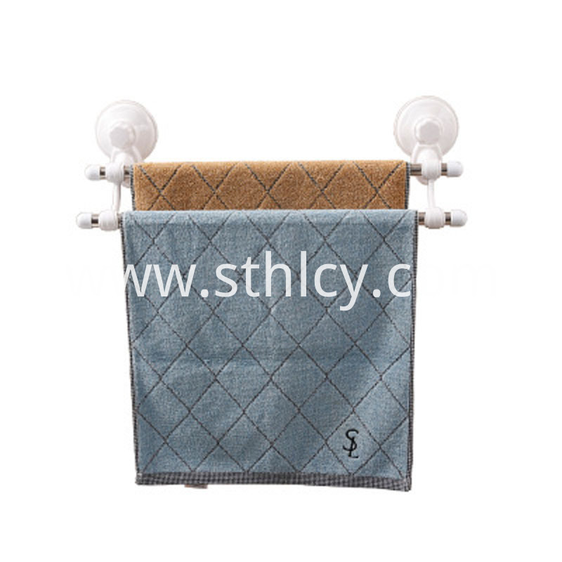 Vacuum Suction Cup Towel Rack