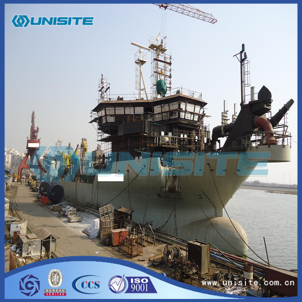 Trailing suction hopper dredger design