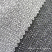 Customized for Fusible Interfacing Fabric Polyester stitched bond paper interlining for shirts export to Senegal Factories
