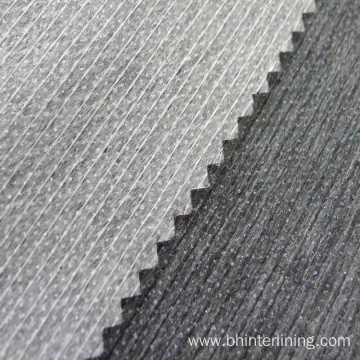 Polyester stitched bond paper interlining for shirts