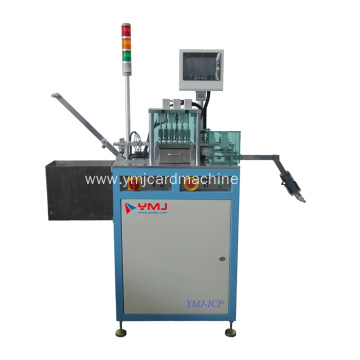 Smart Card Chip Detection and Punch IC machine