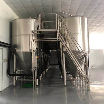 TIG Welding Stainless Steel Sanitary Microbrewery Equipment