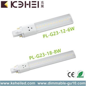 6W Natural White G23 LED Tube Light