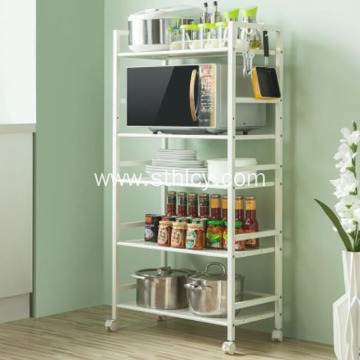Kitchen Mobile Storage Rack with Wheels