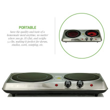 High Quality for Ceramic Cookware Infrared Ceramic Glass Double Plate Cooktop export to Kenya Exporter