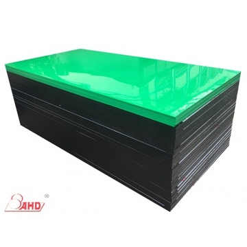 Excellent quality price for Plastic Hdpe Sheet Green High Density Extruded Polyethylene HDPE Board export to Portugal Exporter