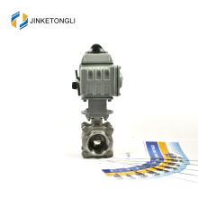 JKTLEB075 electric actuated propress gas ball valve