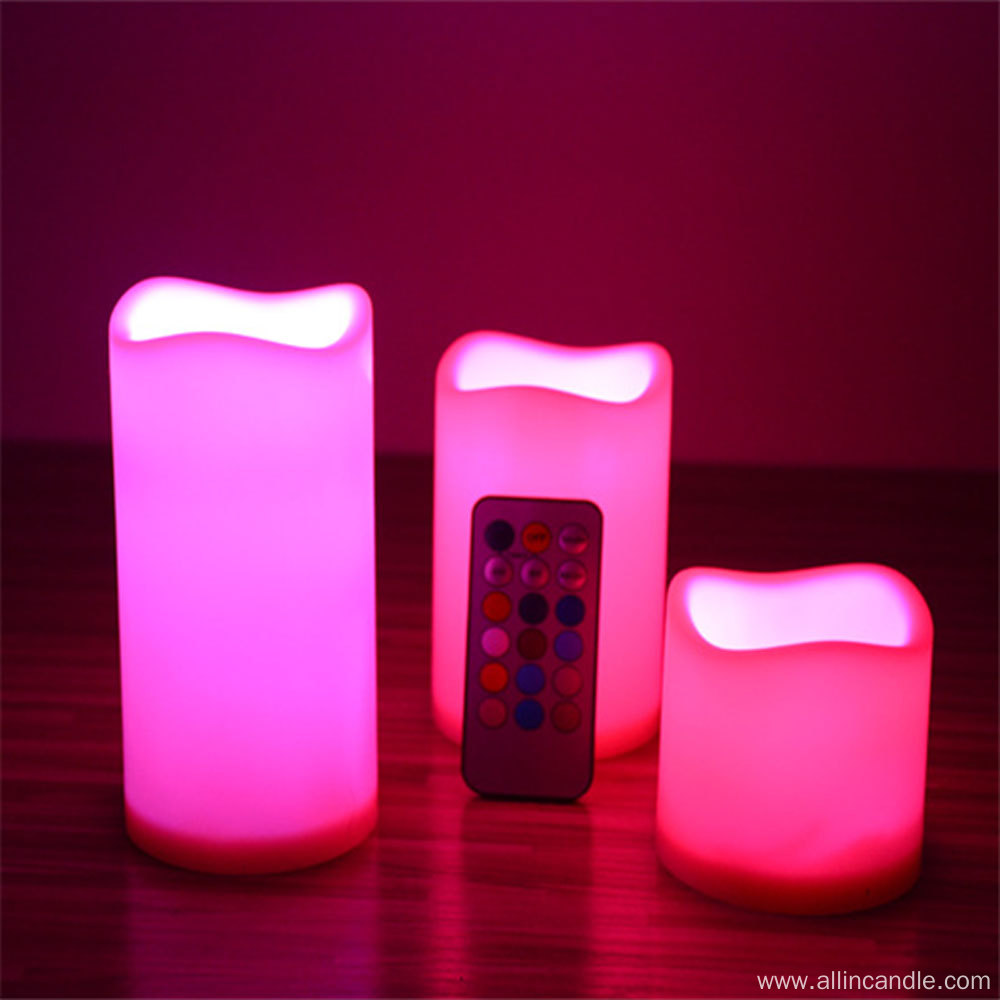 Wholesale LED candle battery operated church candles