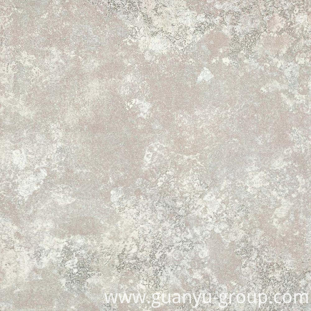 White Metal Glazed Rustic Porcelain Tile