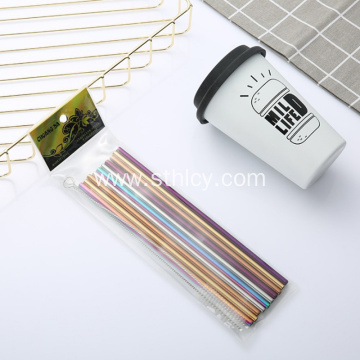 304 Stainless Steel Straw Set Food Grade Straw