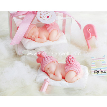 Baby  sleep birthday gift set candles