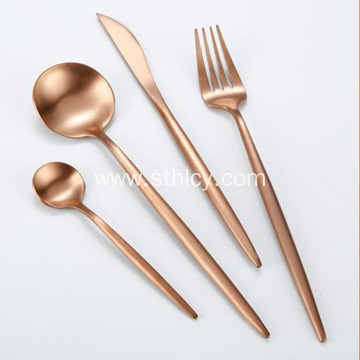 304 Gold Stainless Steel Spoon Set