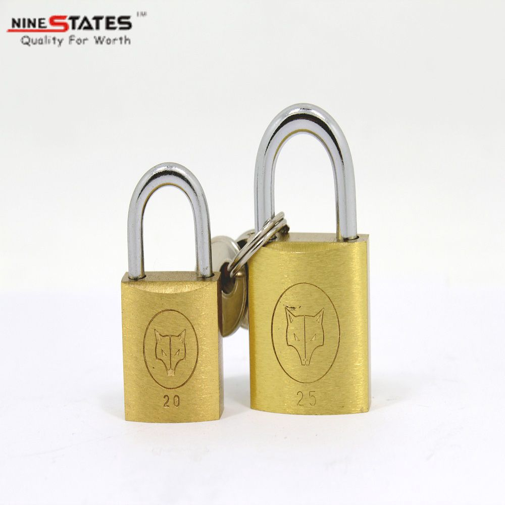 20 MM Heavy Duty Solid Brass Padlock