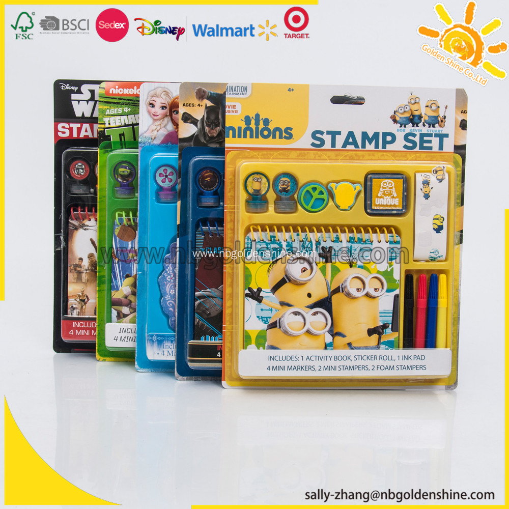 Stamp Activity Set