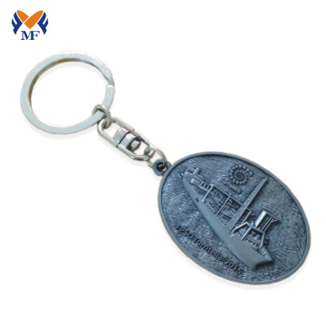 Souvenir Gift No Minimum Custom Logo Metal Keychain