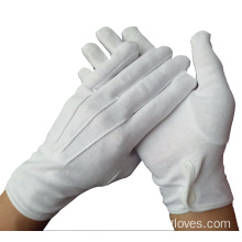 White Cotton Parade Inspection Work Fingerless Disposable