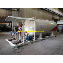 25cbm Mobile Propane Skid Filling Stations