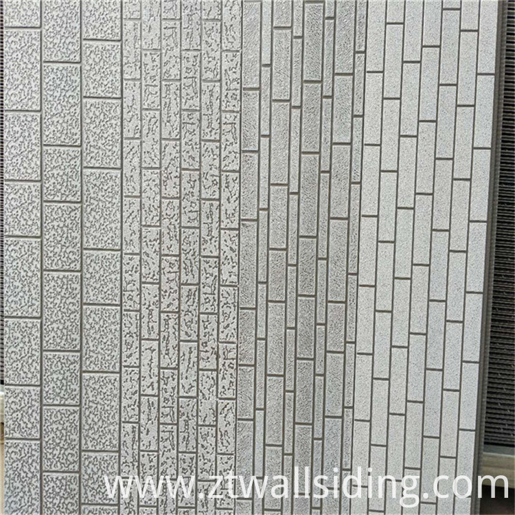 brick pattern metal wall panel
