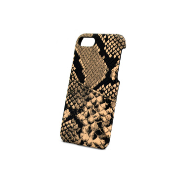 Python Leather Wallet Phone Case for Iphone X