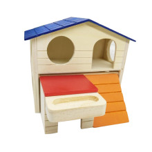 OEM China High quality for Outdoor Wooden Mouse House Wooden Mouse House With Feeding Through supply to Sudan Factory
