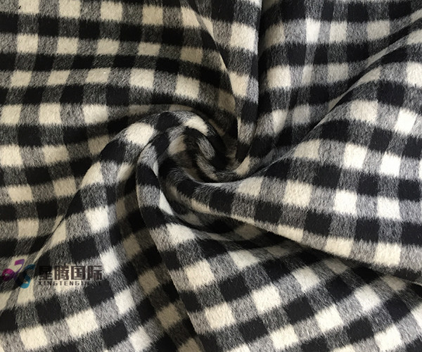 Woven wool blend suit fabric for garment suit