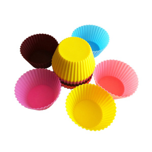 Discount Price Pet Film for Silicone Cupcake Mold colorful small silicone cupcake molds export to Spain Wholesale